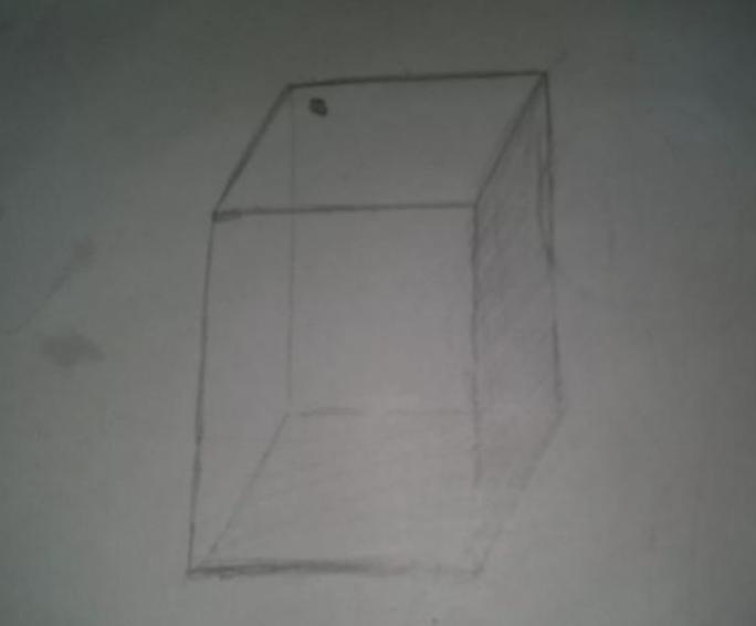 正方体素描初学步骤图