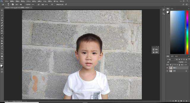 如何用ps把日常的照片制作成证件照?