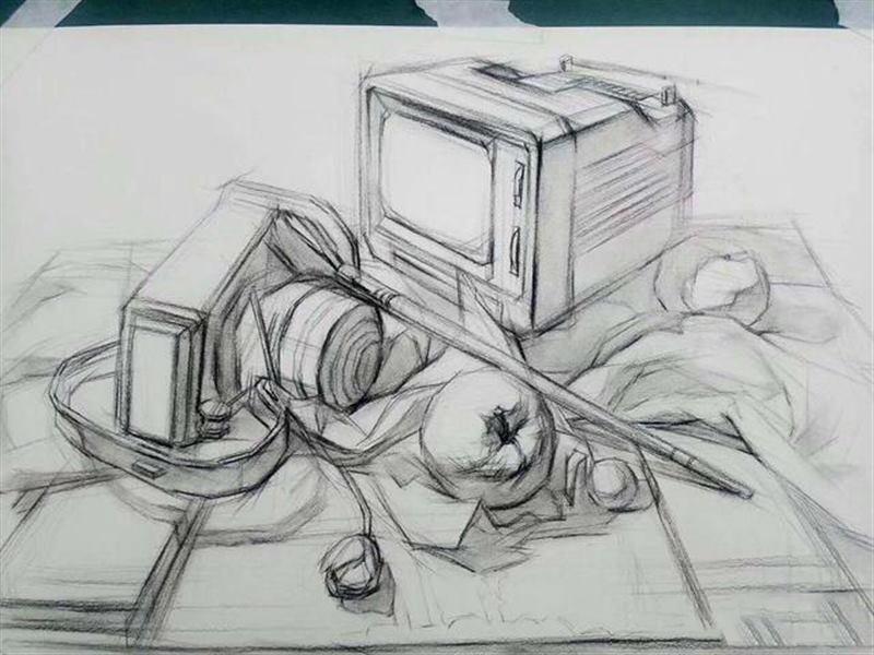 素描、彩铅、手绘、水彩、插画有什么区别?